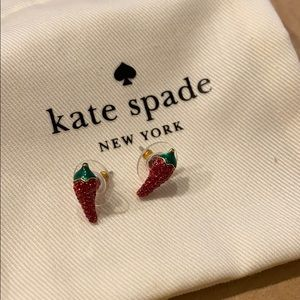 Kate spade New York pepper stud earrings